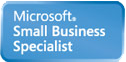 Microsoft Small Business Specialist. landing page design