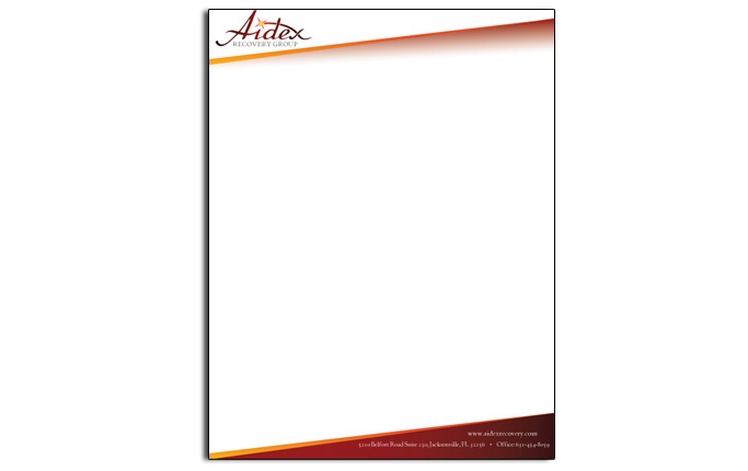 Sample letterhead design letterhead samples spiritdancerdesigns Choice Image