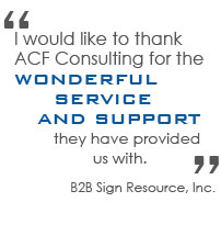 B2B Sign Resource, Inc.