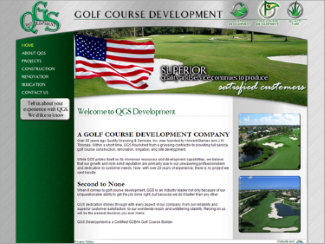 Website Design - QGS Development